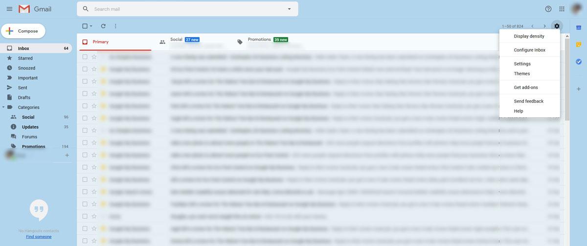 Use Gmail to setup a SMTP Account
