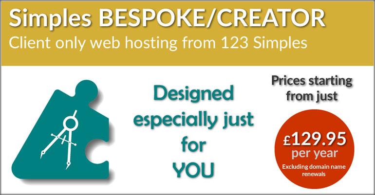 123 Simples Bespoke Web Hosting