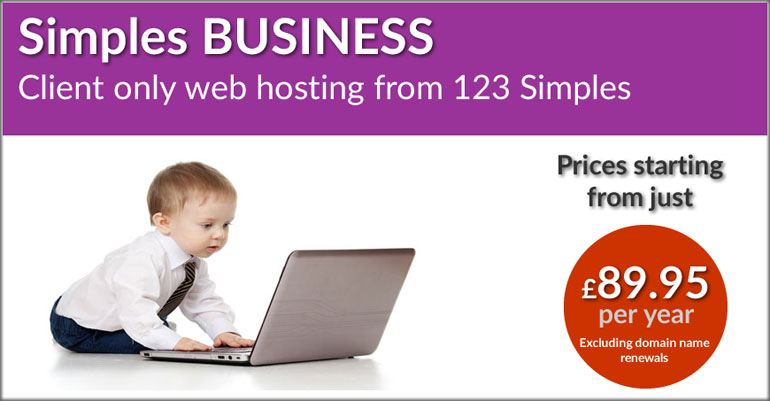 123 Simples Business Web Hosting