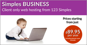 Business Hosting Button