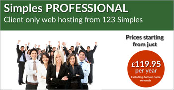 Professional Hosting Button