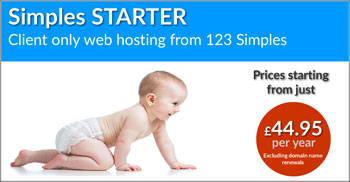 Starter Hosting Button