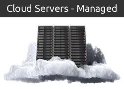 Managed Cloud Hosting Button