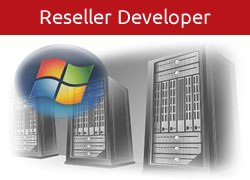 Developer Reseller Hosting Button