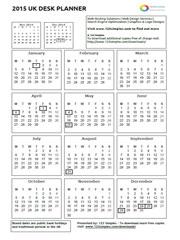 Simples 2017 PDF Desk Planner UK