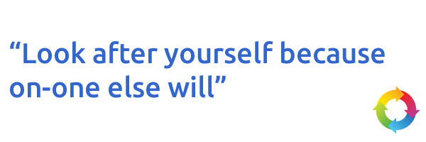 123 Simples Quote - Look After Yourself